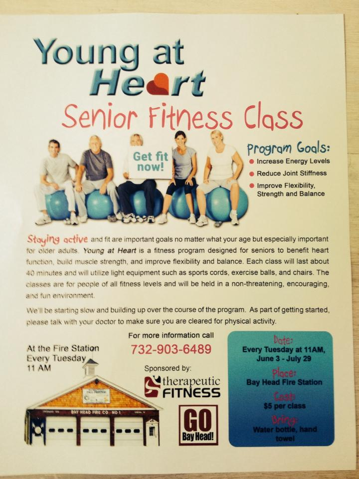 Young at Heart Senior Fitness Class
