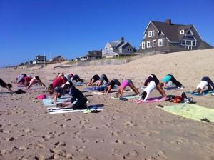 Beach Yoga-$10 per class  @ Howe Street Beach | Bay Head | New Jersey | United States