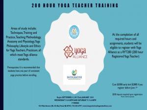 Yoga Teacher Training Information Session @ Integrative healing and Wellness | Bay Head | New Jersey | United States