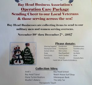 Operation Care Package @ Bay Head