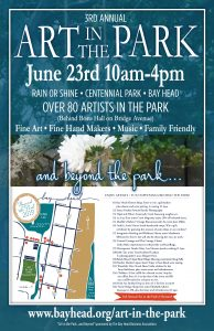 3rd Annual Art in the Park...and Beyond the Park